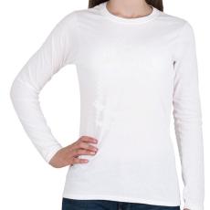 PRINTFASHION kamasz-70-white - Női hosszú ujjú póló - Fehér