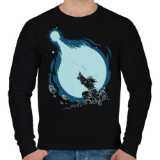 PRINTFASHION Kamehameha - Férfi pulóver - Fekete