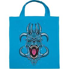 PRINTFASHION Kék ördög - Vászontáska - Kék
