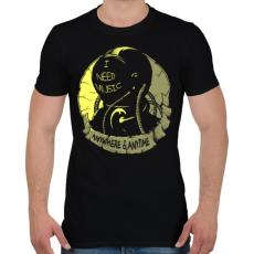 PRINTFASHION Kell a zene - Férfi póló - Fekete