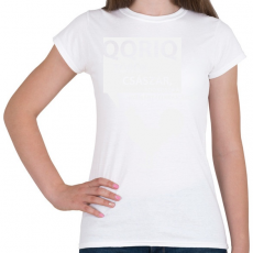 PRINTFASHION kiskakas-white - Női póló - Fehér