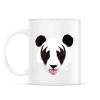 PRINTFASHION Kiss of a panda - Bögre - Fehér