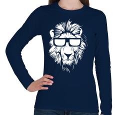 PRINTFASHION Lazaság - Női hosszú ujjú póló - Sötétkék