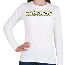 PRINTFASHION legenybucsu-lego - Női hosszú ujjú póló - Fehér