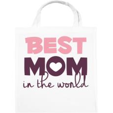 PRINTFASHION Legjobb Anyuka a világon - Vászontáska - Fehér