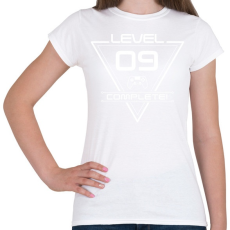 PRINTFASHION level-complete-09-white - Női póló - Fehér