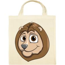 PRINTFASHION Lion - Vászontáska - Natúr