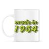 PRINTFASHION made-in-1954-green-grey - Bögre - Fehér