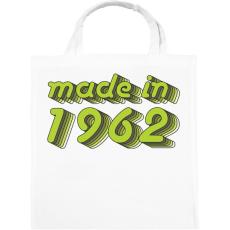 PRINTFASHION made-in-1962-green-grey - Vászontáska - Fehér