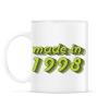 PRINTFASHION made-in-1998-green-grey - Bögre - Fehér