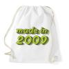 PRINTFASHION made-in-2009-green-grey - Sportzsák, Tornazsák - Fehér