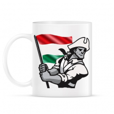 PRINTFASHION Magyar Patrióta  - Bögre - Fehér ajándéktárgy