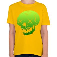 PRINTFASHION Méreg - Gyerek póló - Sárga