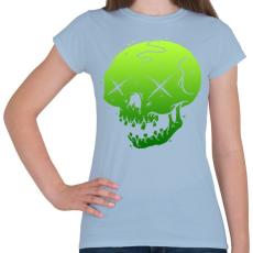 PRINTFASHION Méreg - Női póló - Világoskék