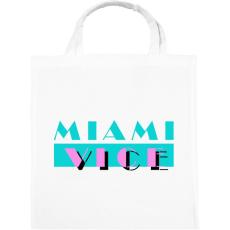 PRINTFASHION Miami Vice - Vászontáska - Fehér