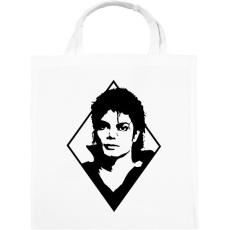 PRINTFASHION Michael Jackson - Vászontáska - Fehér