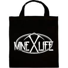 PRINTFASHION Minecraft - bányász élet - Vászontáska - Fekete