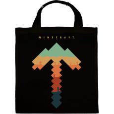 PRINTFASHION Minecraft bányász - Vászontáska - Fekete