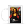 PRINTFASHION Mona Lisa - Bögre - Fehér