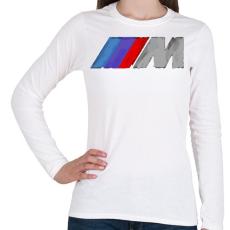 PRINTFASHION Motorsports - Női hosszú ujjú póló - Fehér