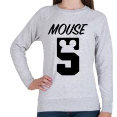 PRINTFASHION Mouse 5 - Női pulóver - Sport szürke