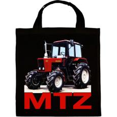 PRINTFASHION MTZ traktor - Vászontáska - Fekete