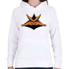PRINTFASHION Naruto - Kurama - Női kapucnis pulóver - Fehér