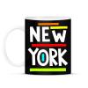 PRINTFASHION NEW YORK - Bögre - Fekete
