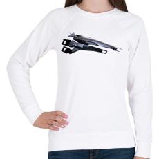 PRINTFASHION Normandia - Női pulóver - Fehér