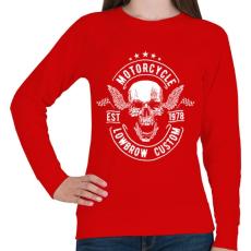 PRINTFASHION Nyárspolgár  - Női pulóver - Piros