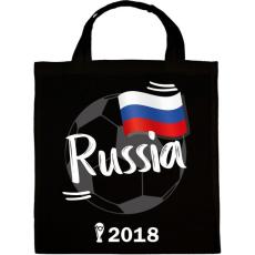 PRINTFASHION Oroszország - Vászontáska - Fekete