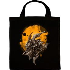 PRINTFASHION Páncélos sárkány - Vászontáska - Fekete