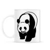 PRINTFASHION Panda - Bögre - Fehér