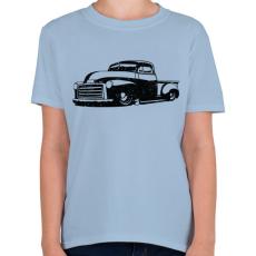 PRINTFASHION Pickup Truck - Gyerek póló - Világoskék