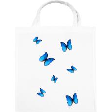 PRINTFASHION Pillangó - Vászontáska - Fehér