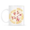 PRINTFASHION Pizza - Bögre - Fehér