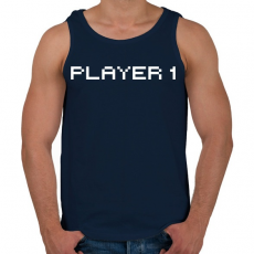 PRINTFASHION PLAYER 1 - Férfi atléta - Sötétkék