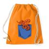 PRINTFASHION Polip zseb - Sportzsák, Tornazsák - Narancssárga