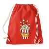 PRINTFASHION Popcorn zseb - Sportzsák, Tornazsák - Piros