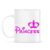 PRINTFASHION Princess - Bögre - Fehér