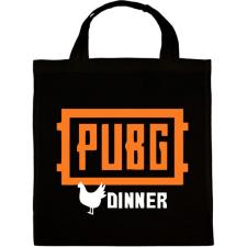PRINTFASHION PUBG DINNER - Vászontáska - Fekete kézitáska és bőrönd