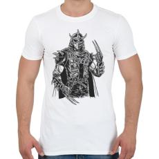 PRINTFASHION Punk zúzó - Férfi póló - Fehér