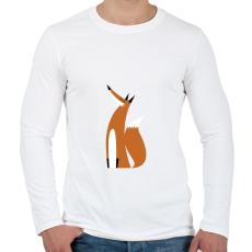 PRINTFASHION Ready for winter - Férfi hosszú ujjú póló - Fehér