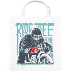 PRINTFASHION Ride Free - Vászontáska - Fehér