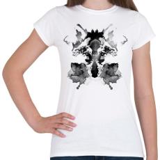PRINTFASHION Rorschach - Női póló - Fehér