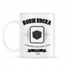 PRINTFASHION rubik-kocka-black-white - Bögre - Fehér