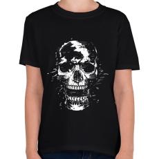 PRINTFASHION Scream - Gyerek póló - Fekete