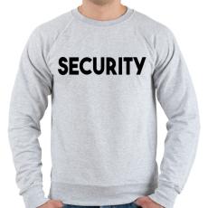 PRINTFASHION SECURITY - Férfi pulóver - Sport szürke