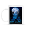 PRINTFASHION Sejtelmes holdfény - Bögre - Fehér