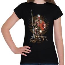 PRINTFASHION Sparta - Női póló - Fekete